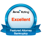 Bankrupcty Chapter 7 & 13 Featured Attorney Redford Livonia Avvo Badge