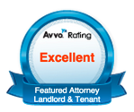 Landlord & Tenant Featured Attorney Redford and Livonia Michigan Avvo Badge