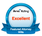 Wills Featured Attorney Redford Livonia Avvo Badge